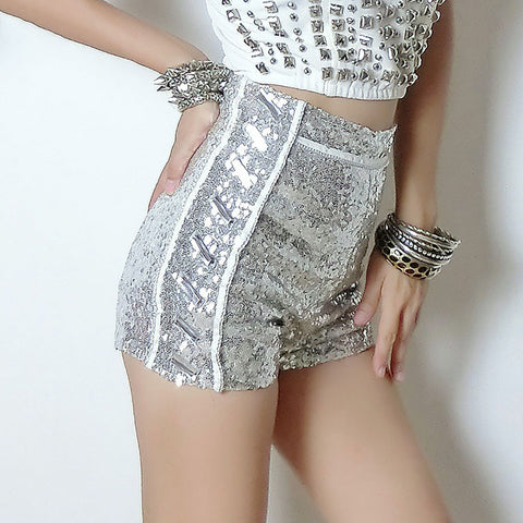 Sequins Club Shorts