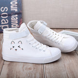 Happy Kitten High Tops
