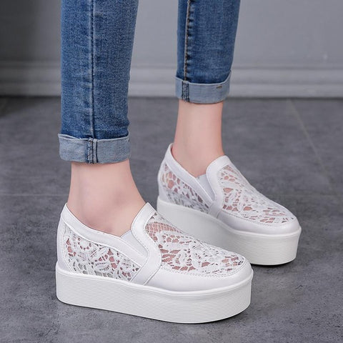 Platform Lace Loafers