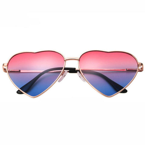 Heart Rave Designer Sunglasses