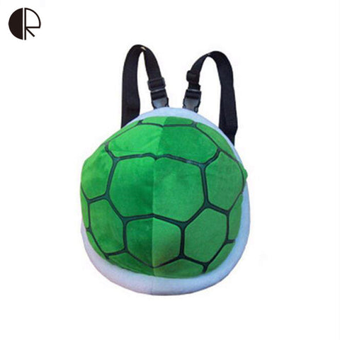 Small Turtle Shell Plush Backpack