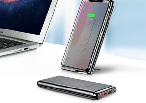 Baseus Wireless Charging Power Bank 10000