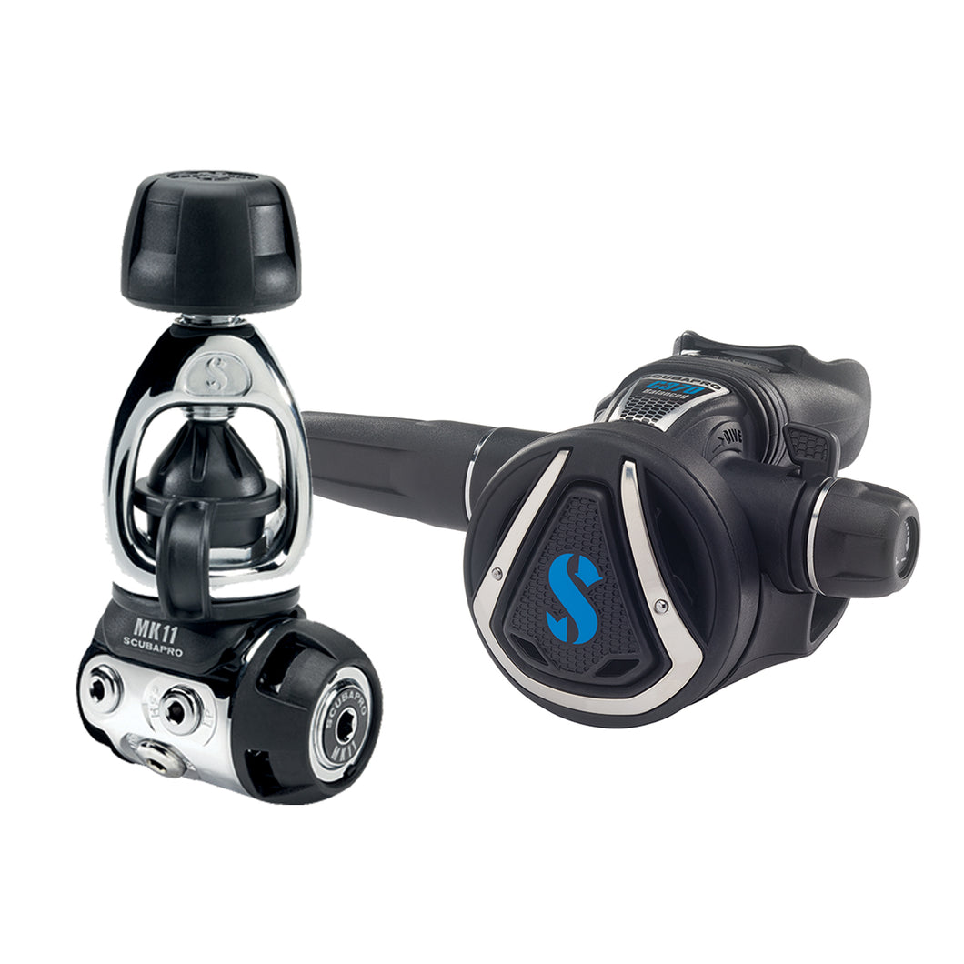 SCUBAPRO MK11/C370 DIVE REGULATOR SYSTEM, INT