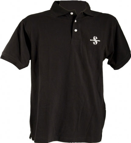 SCUBAPRO - POLO SHIRT 230G BLACK