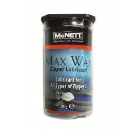 McNett MAX WAX, Dry Suit Zipper Wax