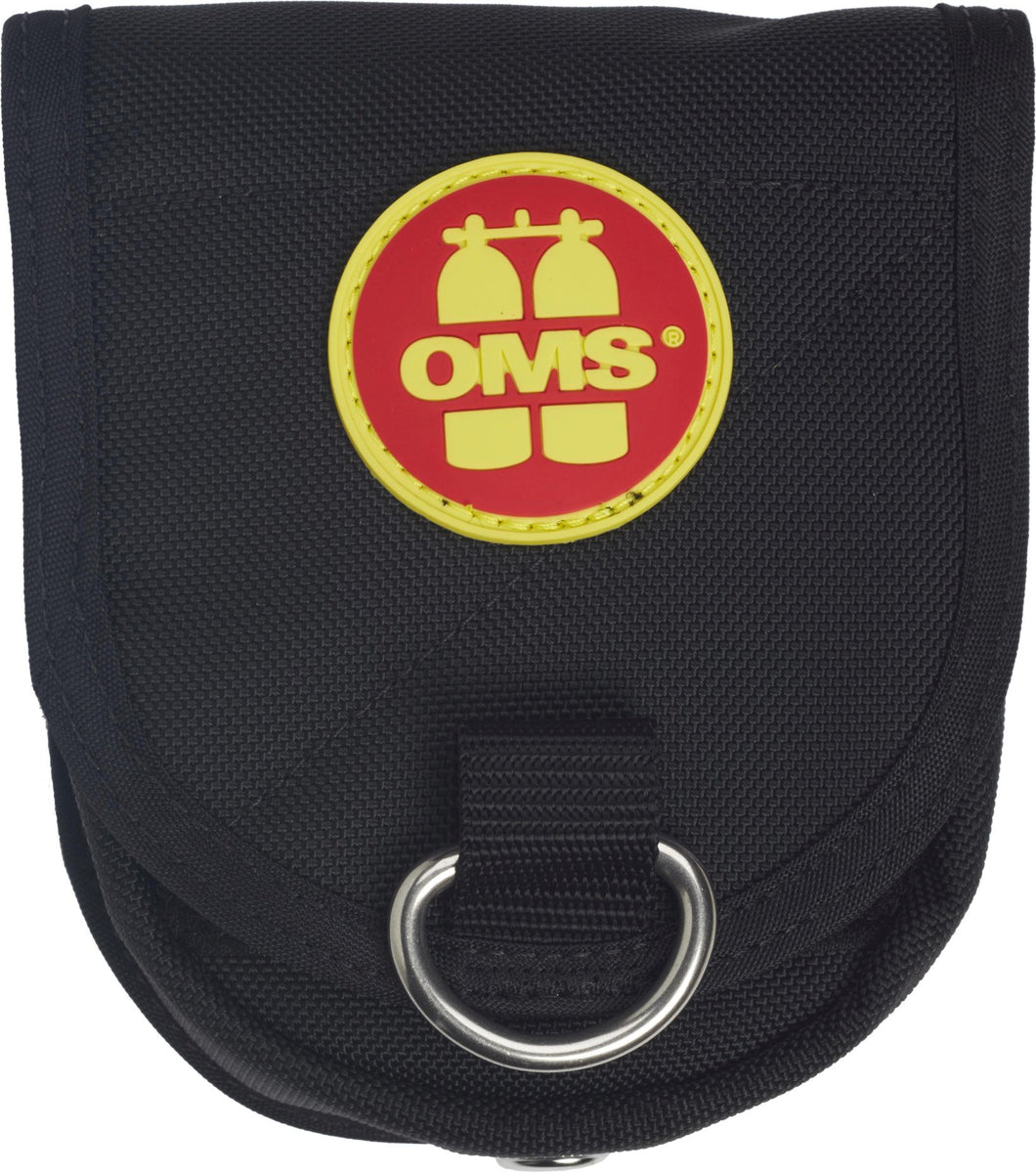 OMS Trim Weight Pocket 5 lb (2.3 kg), attaches to cylinders straps can be mounted horizontal or vertical