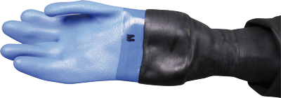 OMS - OMS dry gloves with latex conical wrist seal & loose inner liner