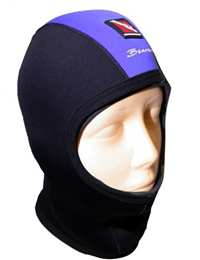 BEAVER Aqua-Flex 3mm Hood Black/Blue Extra Large