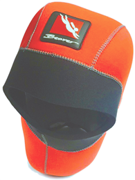BEAVER Glow-Flex Semi-Dry Hi-Viz Hood Orange Small
