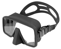 BEAVER Atomic Frameless Dive Mask Black Silicone