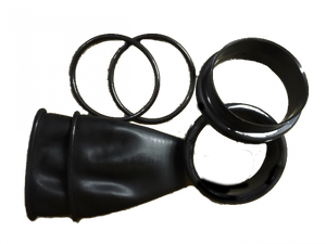OMS - DRYSUIT ACCESSORIES  Cuffs set consisting of: rings, latex protection, O-rings