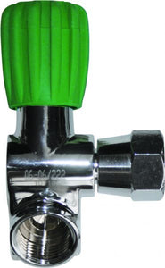 OMS - Second Outlet, RIGHT 230 bar, EU Nitrox M26/2, incl. rubber knob