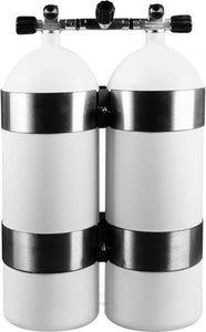 OMS bands - Twinset Steel Cylinders 15 litre, CONCAVE, 230 bar, DIR Style