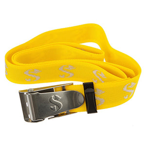 SCUBAPRO weight belt with inox buckle yellow