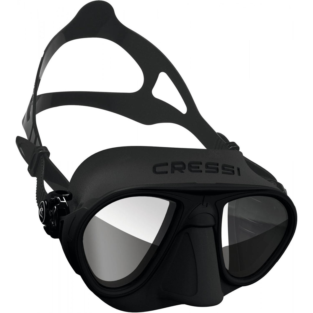 CRESSI SUB - Cressi Calibro BLACK MIRROR HD LENSES