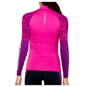 SCUBAPRO UPF50 LONG SLEEVE WM FLAMINGO RASH GUARD XL