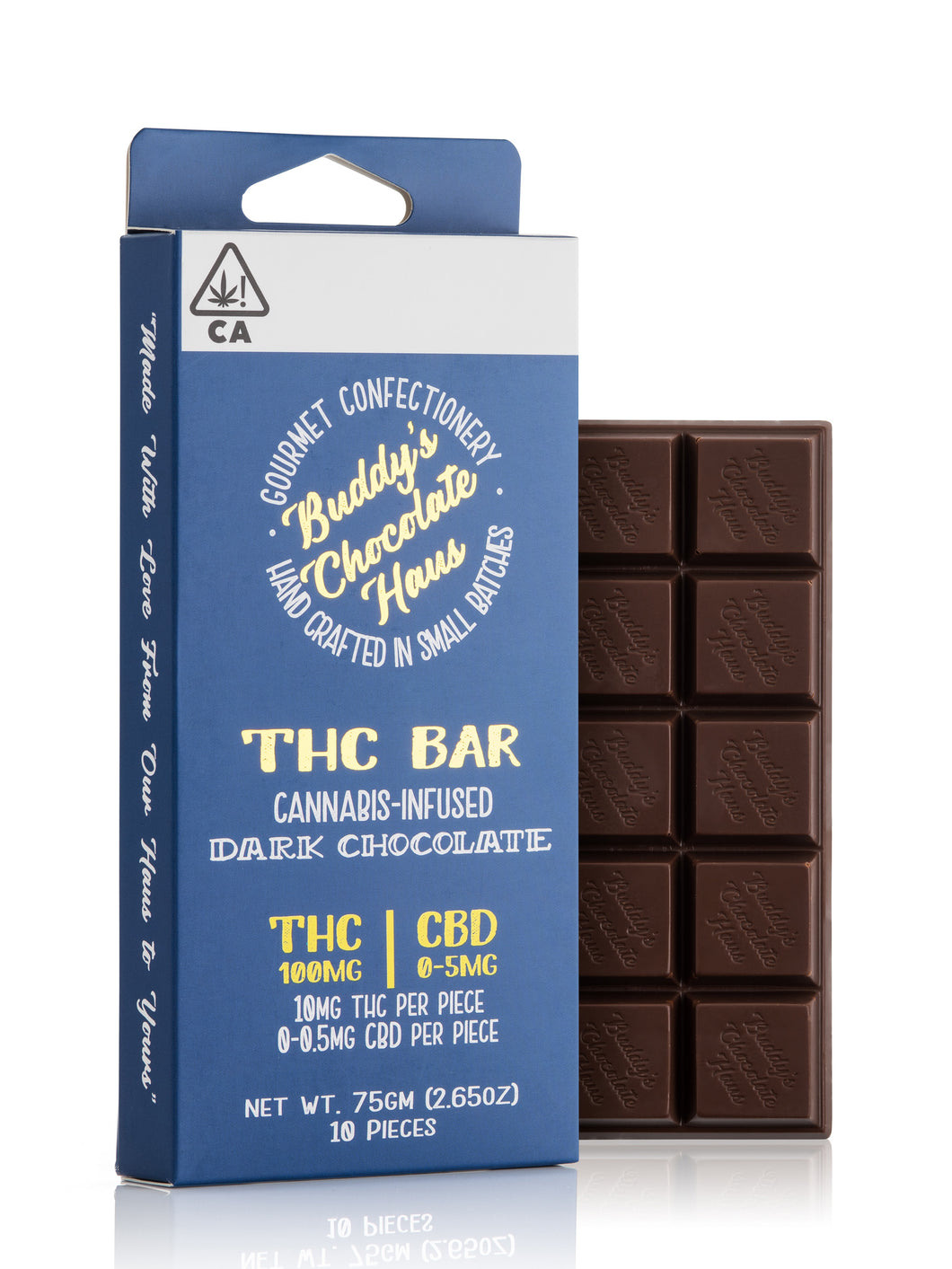 Dark Chocolate THC Bar 100mg