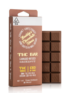 Hazelnut THC Bar 100mg