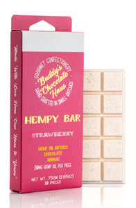 Strawberry Hempy Bar 300mg