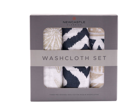 World Wanderer Washcloth - Set of 3