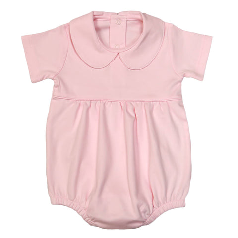 Spring 2020 Pink Baby Collar Pima Bubble