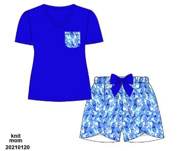 Preoder 59 extras ETA July Royal Paisley Mom Set