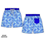 Preoder 59 extras ETA July Royal Blue Swim Trunks