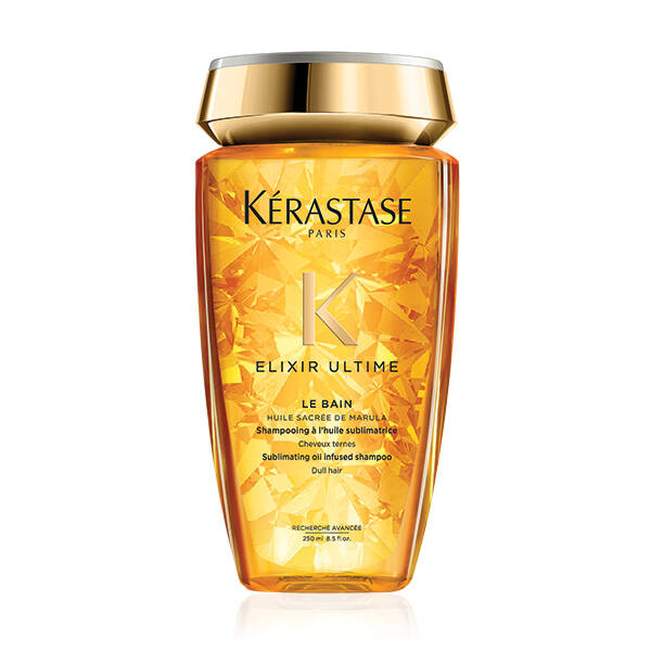 Bain Elixir Ulime Kerastase Oil Infused Shampoo Thick Long Curly Hair