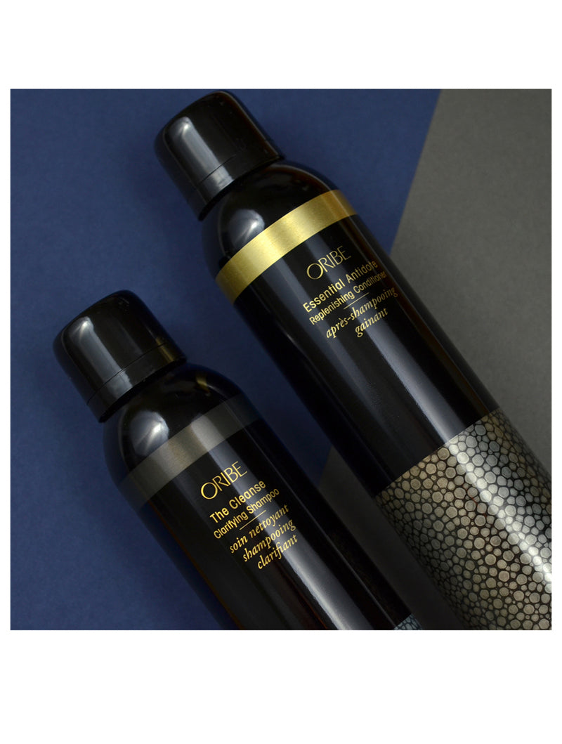 The Cleanse Clarifying Shampoo and Essential Antidote Replenishing Conditioner