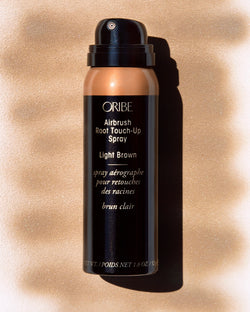 Airbrush Root Touch-Up Spray LIGHT BROWN x 75 ml Oribe New