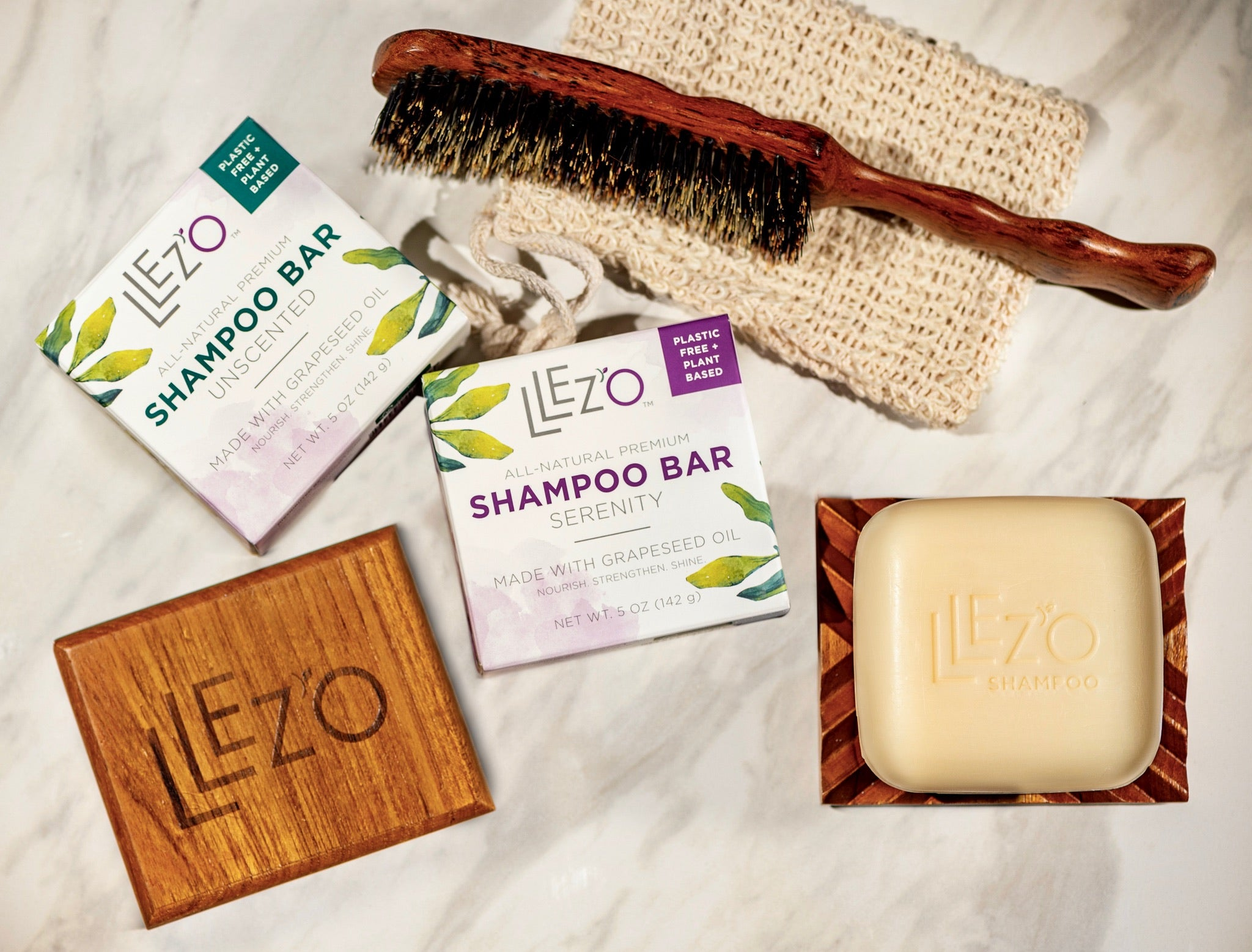 LLez'o Sulfate-Free, Paraben-Free Shampoo Soap Bars