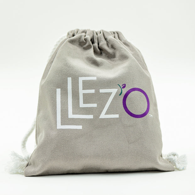 Cotton Travel Bag - Travel Bag LLez'o Zero Waste Shampoo Bars
