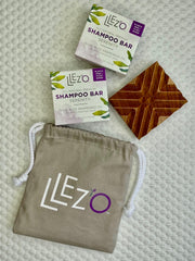LLez'o On the Go Travel Bundle - LLez'o All-Natural Shampoo Soap Bars
