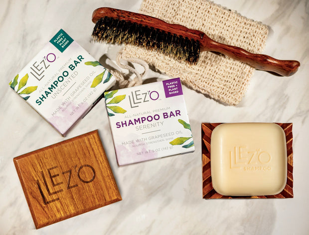 Teak Shampoo Dish - Shampoo Dish LLez'o Clean Beauty Hair Products