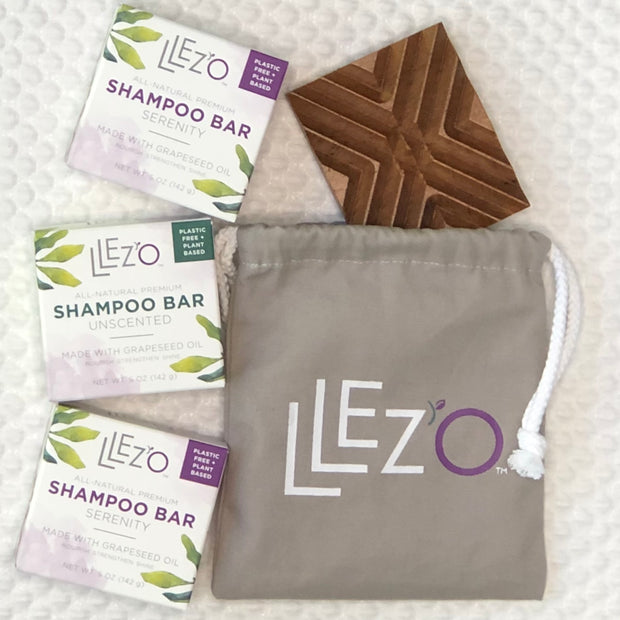 All-Natural Shampoo Bar – Unscented - Shampoo Bar LLez'o Premium Shampoo Bars Salon Quality Hair Care