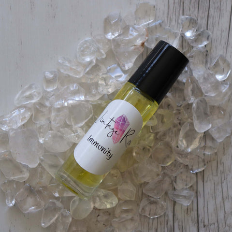 Immunity Essential Oil Blend - Vintage Rose Handmade Jewellery
