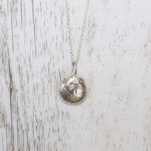 Kalypso Silver Necklace - Vintage Rose Handmade Jewellery