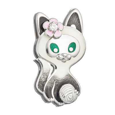 "Enamel pin ""Mr Meow"" - Namfleg Jewelry"