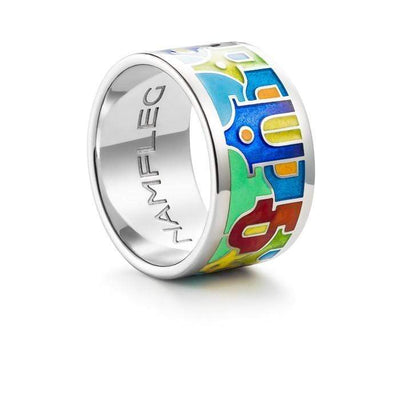 "Silver ring ""Corfu Houses"" - Namfleg Jewelry"
