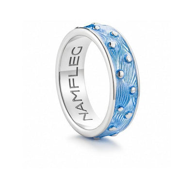 "Silver ring ""Ice Melt"" for men - Namfleg Jewelry"