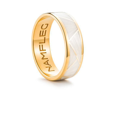 "Silver ring ""Ivory"" - Namfleg Jewelry"