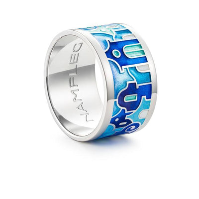"Silver ring ""Santorini Houses"" - Namfleg Jewelry"