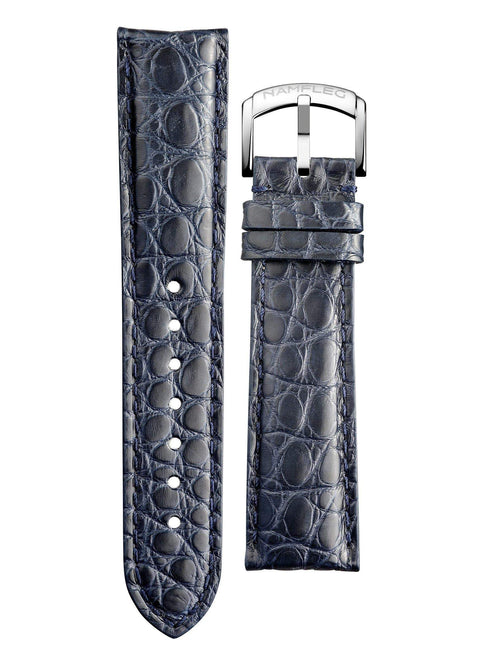 Namfleg straps Midnight Blue Alligator