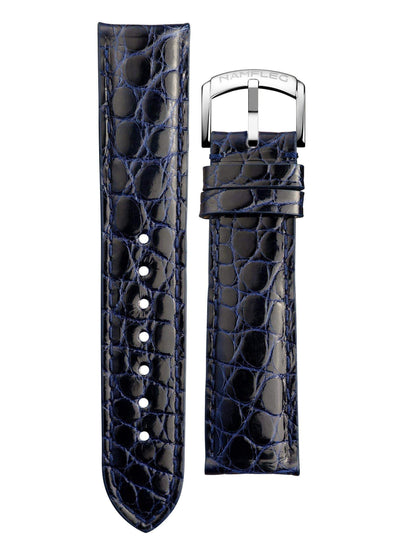 Navy Blue Alligator - Namfleg Jewelry