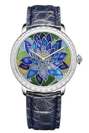 Namfleg Watches Royal Lotus. Sapphire Wave.