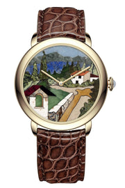 Namfleg Watches Stainless Steel with Yellow Gold PVD coating Tuscany Hills