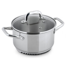 Load image into Gallery viewer, FRESHAIR™ 3.5 QT. STAINLESS STEEL CASSEROLE POT/DUTCH OVEN