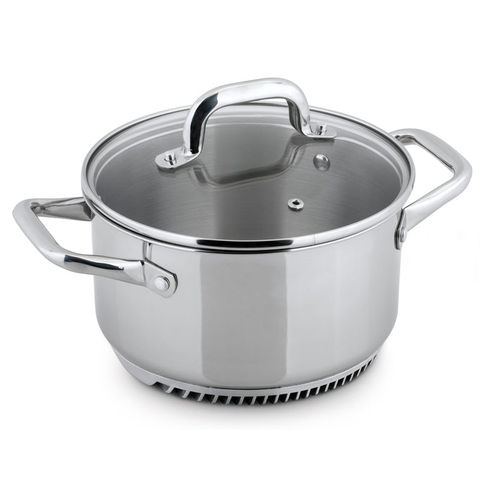 FRESHAIR™ 3.5 QT. STAINLESS STEEL CASSEROLE POT/DUTCH OVEN
