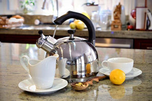 FRESHAIR™ 2.5 QT. STAINLESS STEEL TEA KETTLE