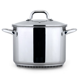 FRESHAIR™ 8 QT. STAINLESS STEEL STOCK POT
